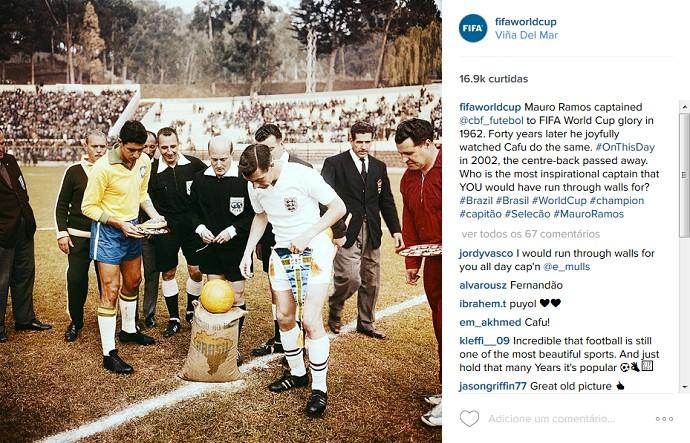 Fifa homenagem Mauro Ramos