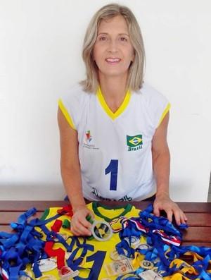Andreia Lúcia, atleta de vôlei da Paraíba, João Pessoa (Foto: divulgação)