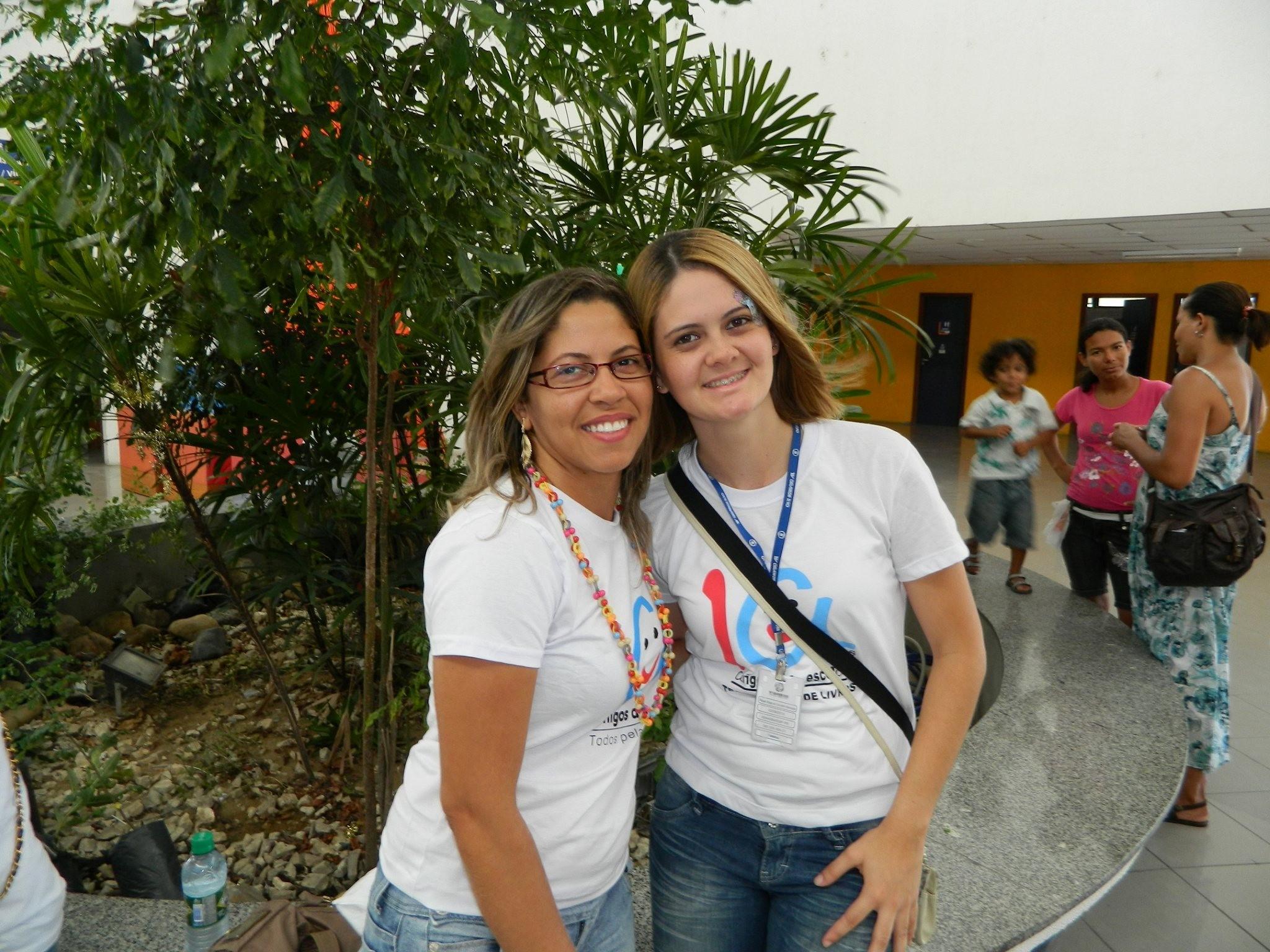 Mara participa ativamente dos Projetos realizados pela TV Grande Rio (Foto: Arquivo Pessoal)