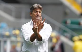 Menos posse, mais objetivo: Grêmio apresenta novo estilo com Renato