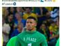 Gabriel Jesus homenageia Prass com camisa 1 após ouro olímpico do Brasil