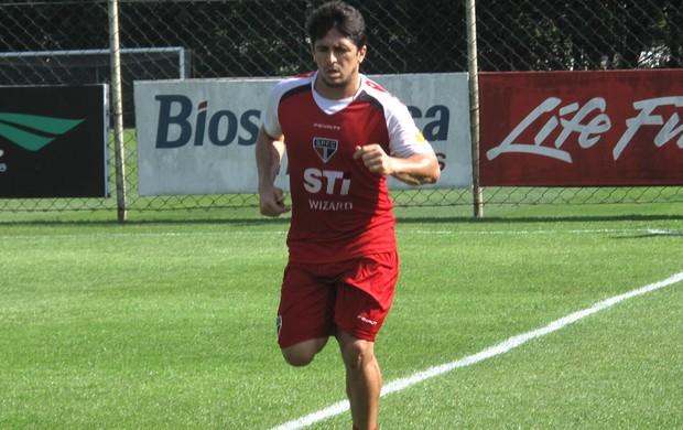 Aloisio Treino São Paulo (Foto: Rodrigo Faber)