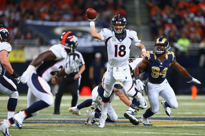 nfl peyton manning denver broncos st. louis rams (Foto: Getty Images)
