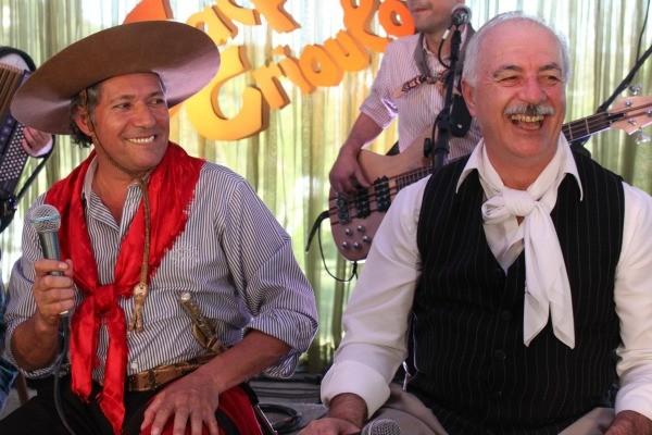Galpão Crioulo contou com grandes nomes do tradicionalismo gaúcho (Foto: Verônica De Giacomo/RBS TV)
