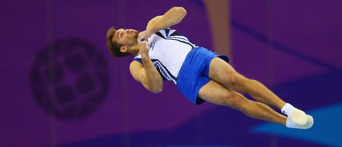 Alexander Shatilovo nos Jogos Europeus (Foto: Getty Images)