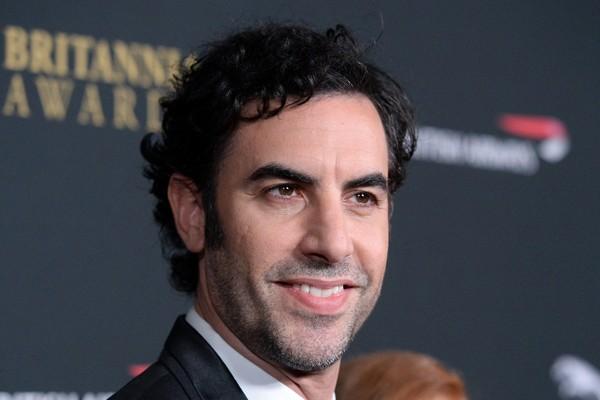 O ator Sacha Baron Cohen intérprete do personagem Borat (Foto: Getty Images)