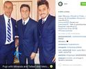 Photobomb inusitado: Felipe Melo vira intruso em foto com brasileiros e Zanetti