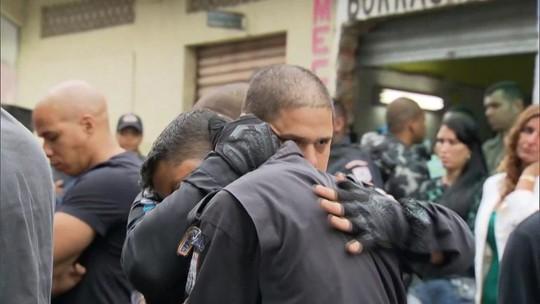 ONG Rio de Paz faz ato em memória dos 91 policias militares assassinados este ano no RJ
