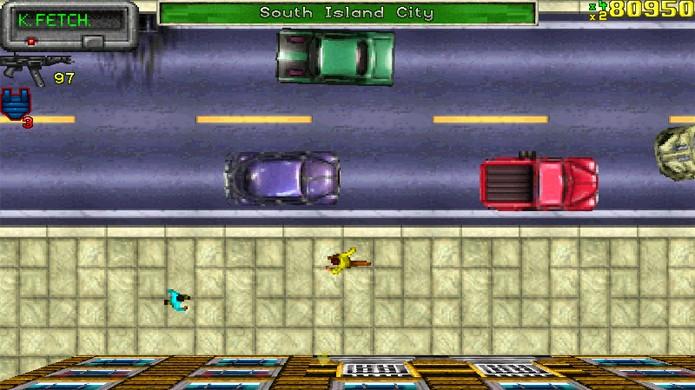 O primeiro Grand Theft Auto já era sucesso com sua liberdade e violência que viraram as marcas de GTA (Foto: Reprodução/GTA Wiki)