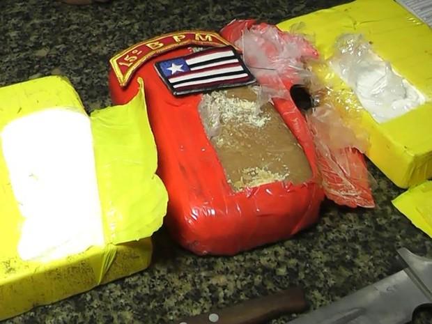 Tabletes de drogas está avaliado em R$ 230 mil, segundo a Polícia (Foto: Divulgação/SSP)