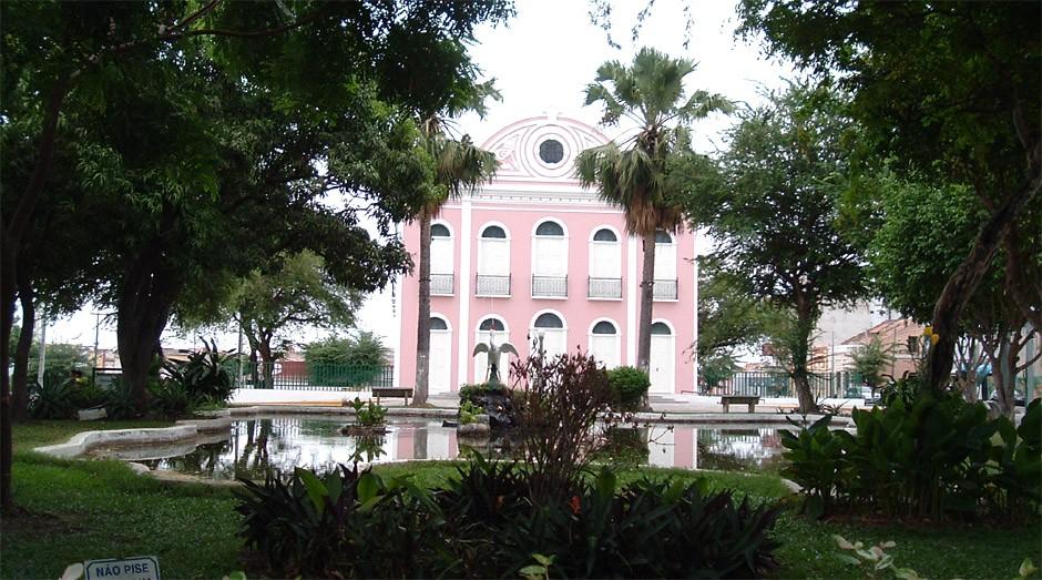 Praça São João, em Sobral (Foto: Governo do Ceará)