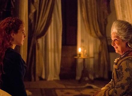Branca confessa a Alexandra que passou a noite com Xavier