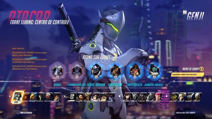 Conheça os tipos de personagens de Overwatch (Foto: Reprodução/Felipe Vinha)