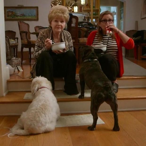 Carrie Fischer de Debbie Reynolds (Foto: Reprodução)