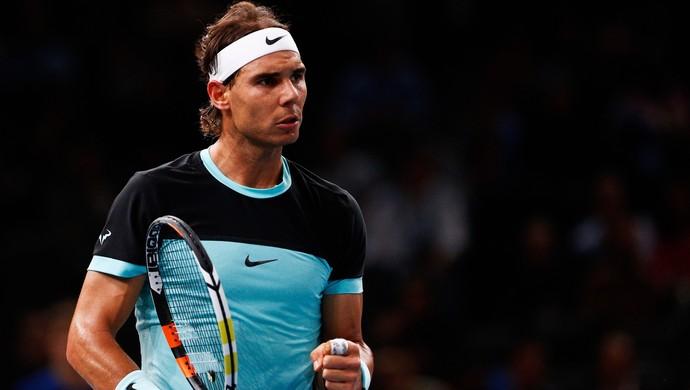 Rafael Nadal vence Lukas Rosol na estreia do Masters 1000 de Paris (Foto: Getty Images)