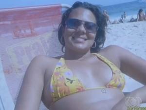 Juliana Paula Silva morreu após tomar remédio para emagrecer (Foto: Reprodução/TV Anhanguera)