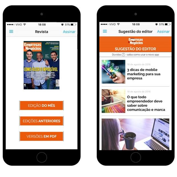 Interface do novo aplicativo (Foto: Reprodução )
