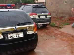 Polícia Civil prendeu dupla em Paineiras (Foto: Polícia Civil/Divulgação)