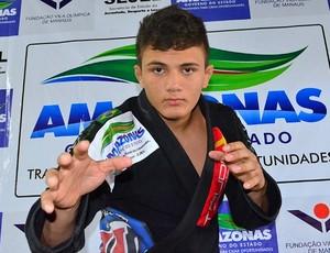 Samuel Aguiar jiu jítsu amazonas (Foto: Michael Dantas Sejel)