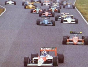 Largada GP do Japão de 1988