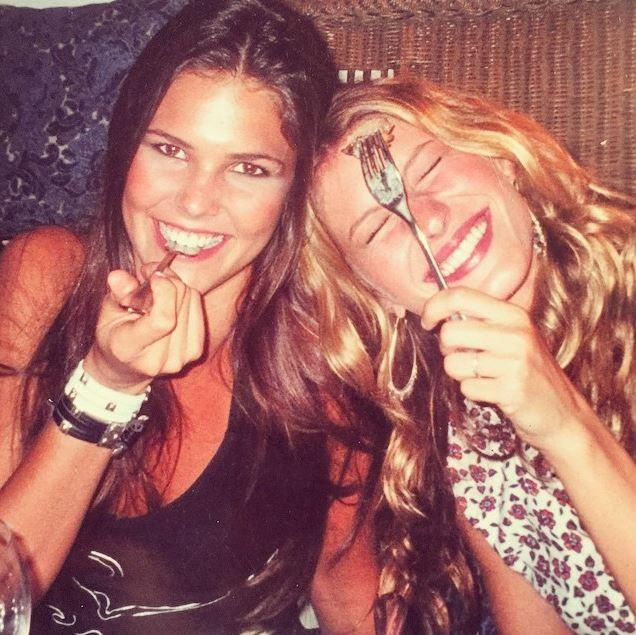 Daniella Sarahyba e Gisele Bündchen  (Foto: Instagram/Reprodução)