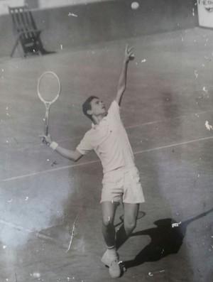 Copa Davis, tênis, Reno Figueiredo, cearense  (Foto: Arquivo Pessoal )