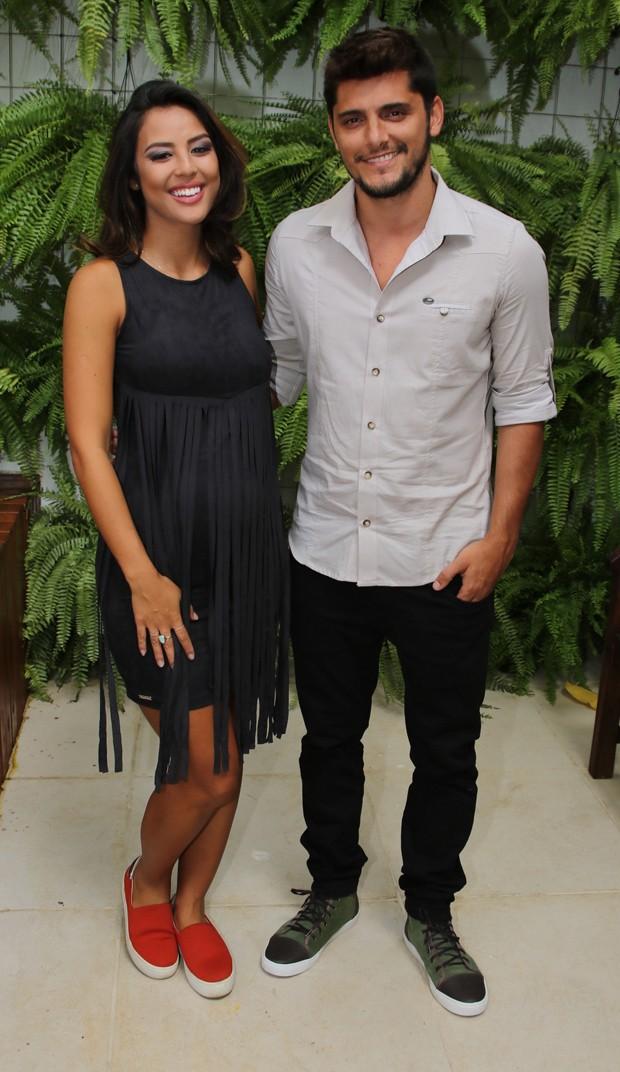 Yanna Lavigne e Bruno Gissoni (Foto: Thiago Duran/AgNews)