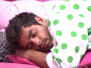 BBB às 09h42m do dia 06/03. (Foto: Big Brother Brasil)