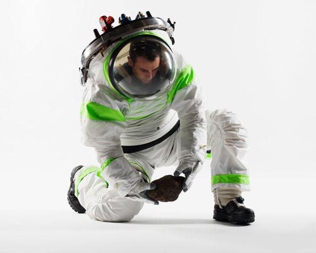 Antigo traje espacial da Nasa, modelo Z-1 dará lugar ao Z-2, cujo design será escolhido por votação na internet. (Foto: Divulgação/Nasa)