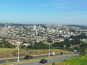 Valinhos integra a Região Metropolitana de Campinas (Foto: Maurício Barbosa/ G1)