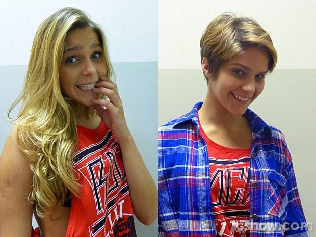 Isabella adotou corte joãozinho (Foto: Malhação / TV Globo)