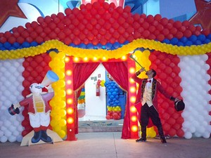 Salões de festas infantis não sentiram período de baixa na economia (Foto: Fernanda Carromeu Domingues Vieira/Arquivo pessoal)