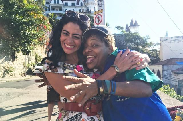 Carol Castro e Mart'nália (Foto: Divulgação)