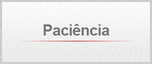 Selo Paciência (Foto: G1)