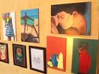 Exposição em Angra dos Reis, RJ, traz obras de alunos superdotados