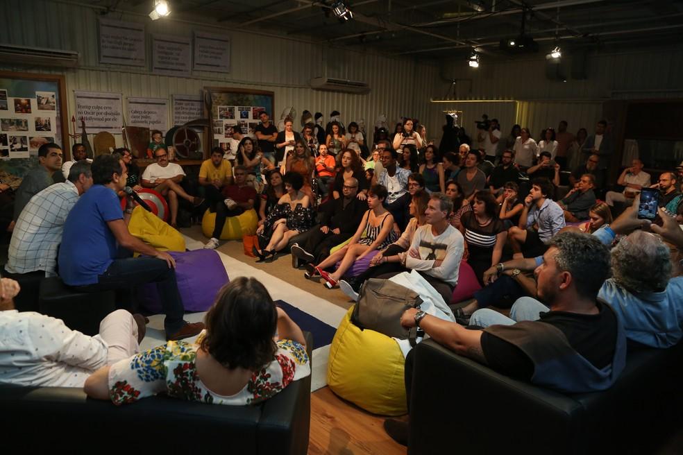 Coletiva acontece na manhã desta terça, nos Estúdios Globo (Foto: Isabella Pinheiro/Gshow)