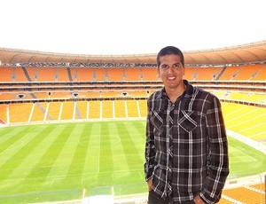 Getulio Vargas no Soccer City (Foto: Divulgação / Arquivo Pessoal)