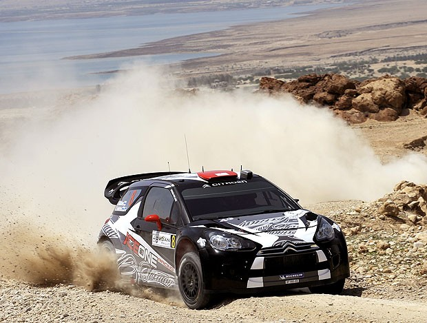 Kimi Raikkonen no rali da Jordânia (Foto: Getty Images)