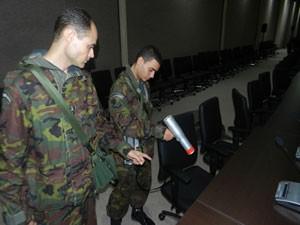Armas químicas nucleares (Foto: Batalhão DQBN/Divulgação)