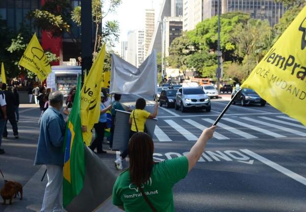 Protesto organizado pelo movimento Vem pra Rua (Foto: Rovena Rosa/Agência Brasil)
