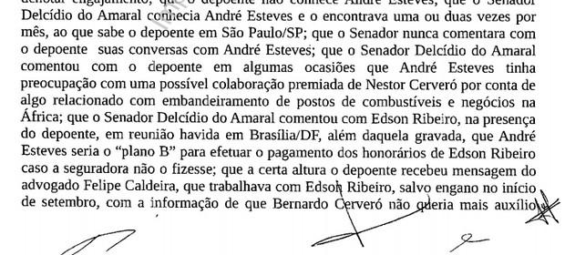 Delação de Diogo Ferreira (Foto: Reprodução)