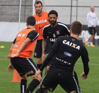 Corinthians treino (Foto: Reprodução / Twitter)