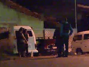 Assalto aconteceu em Santana, a 17 quilômetros de Macapá (Foto: Reprodução/TV Amapá)