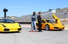 Estas cenas foram gravadas no autódromo Laguna Seca, na cidade de Monterey (Foto: Aline Kras/TV Globo)