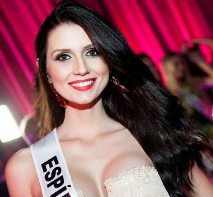 Amanda Recla é Miss Espírito Santo (Foto: Reprodução/Facebook)