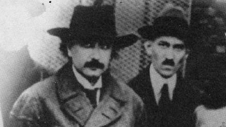 Albert Einstein e Nikola Tesla em 1943 (Foto: Reprodução) (Foto: Reprodução)
