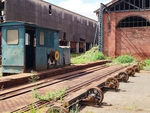 Oficina ferroviária de Rio Claro (Foto: Eric Mantuan)