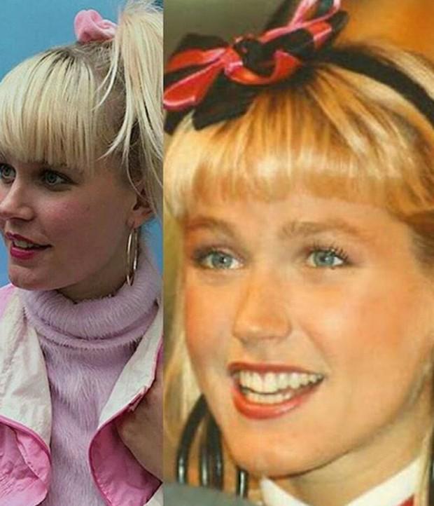 Holandesa descobre ser 'sósia' de Xuxa
