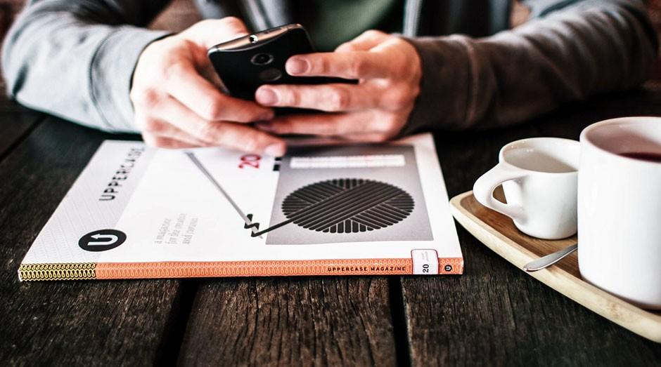 Celular, smartphone (Foto: Unsplash)