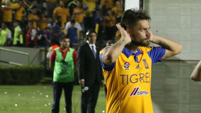 Tigres Inter Libertadores festa jogo Rafael Sóbis (Foto: Diego Guichard/GloboEsporte.com)